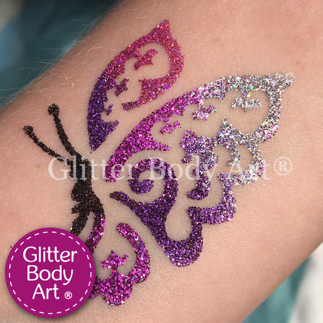 Cosmetic Grade Body & Face Glitter - Temporary Tattoo Store