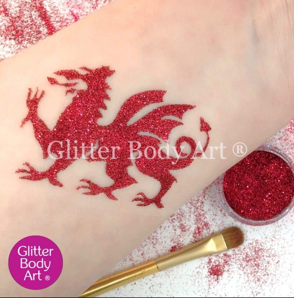 Welsh Dragon stencil, dragon template, dragon temporary tattoo, welsh dragon stencil, welsh dragon tattoo, welsh dragon, wales rugby dragon