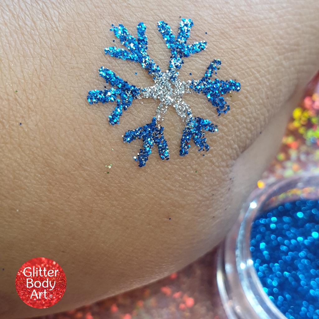 snowflake glitter tattoo, snowflake stencil, snowflake temporary tattoo, snowflake template, mini temporary tattoos for kids