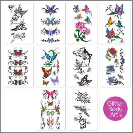 temporary tattoo stickers
