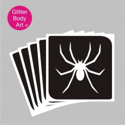 spider temporary tattoo stencil, spiderman stencil