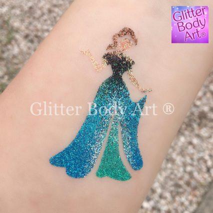 disney princess temporary tattoo