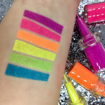 UV Body Glitter collection for glitter tattoos