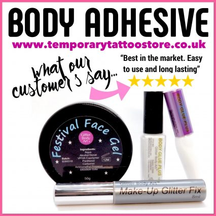 Body Glue customer review for skin body adhesive
