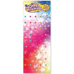 banner, glitter tattoo banner, advertising poster, advertising banner