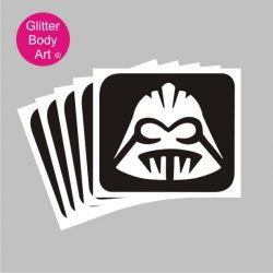 Star Wars temporary tattoos, darth vadar stencil