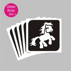 my little pony temporary tattoo stencils