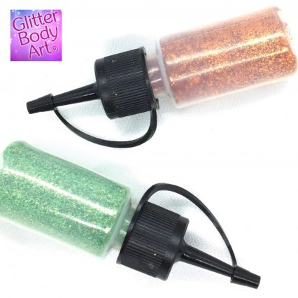puffers for loose glitter