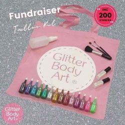 School PTA Fundraising glitter tattoo kit for kids