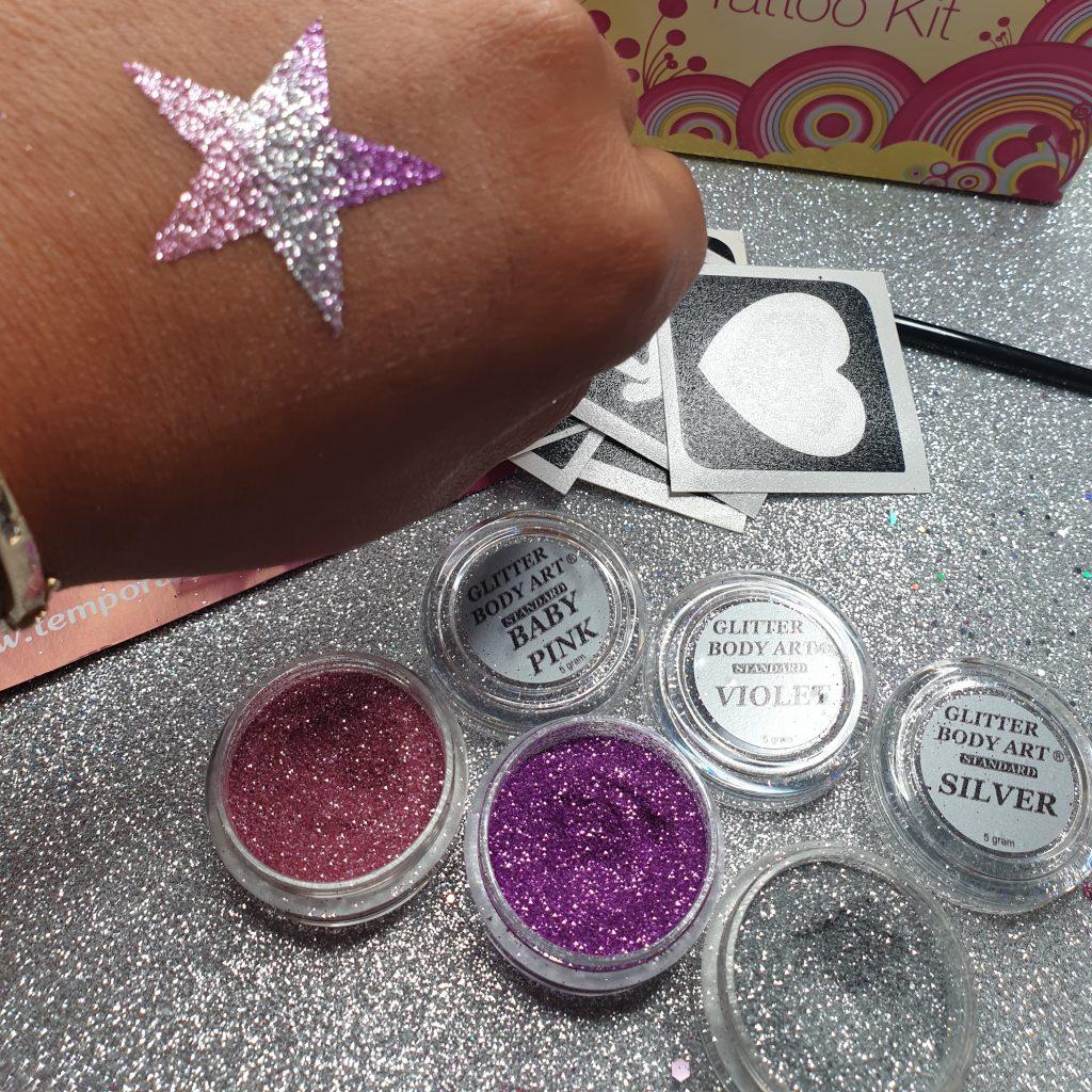 Star Glitter Tattoo