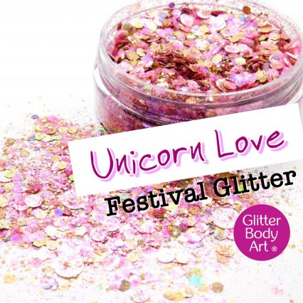 Unicorn Love Festival glitter