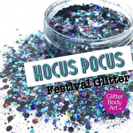 Hocus Pocus halloween festival glitter