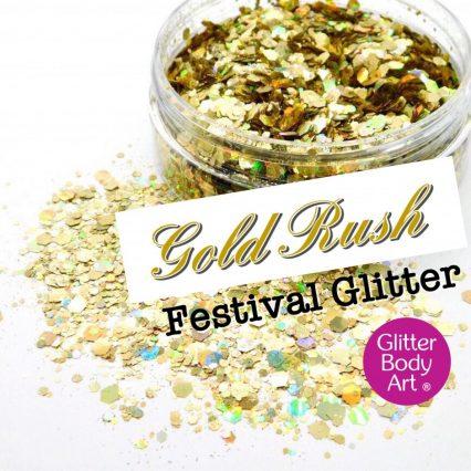 Gold Rush Festival Glitter