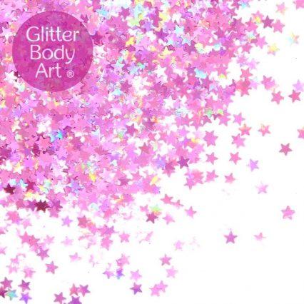 glitter stars makeup, loose glitter, stars cosmetic