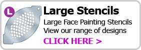 large-face-paint-stencils