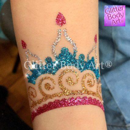 henna temporary tattoo glitter tattoo stencil