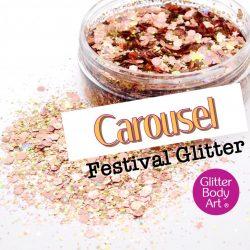 Carousel festival glitter