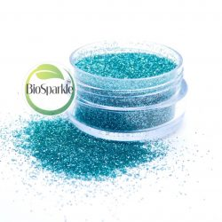 Turquoise blue bio glitter loose eco glitter