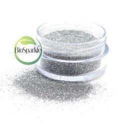 silver bio glitter jar, silver bioglitter, biodegradeable glitter jar