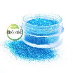 sky blue bio glitter, loose eco glitter for makeup