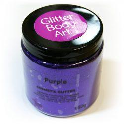 Cadbury purple wholesale cosmetic glitter
