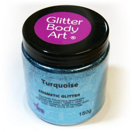 Turquoise blue wholesale cosmetic glitter - bulk buy glitter
