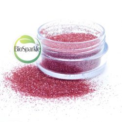 pink biodegradable glitter, eco glitter for makeup