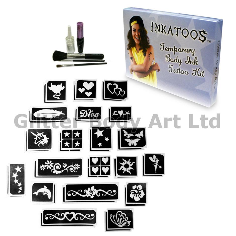 Glitter Tattoo Kits Products Temporary Tattoo Store