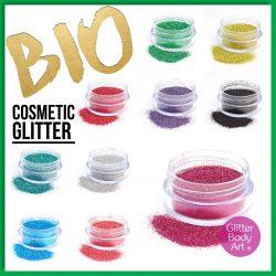 bioglitter collection, biodegradable eco glitter
