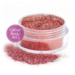 carnation pink cosmetic body fine glitter makeup