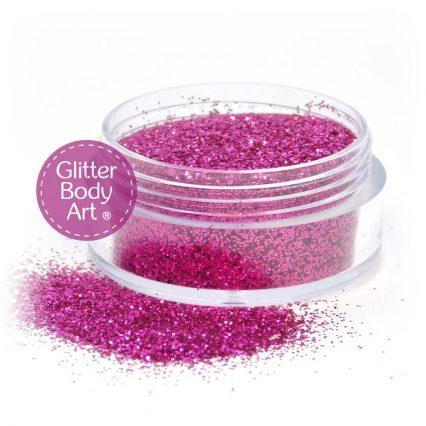 cerise glitter, pink glitter, cosmetic glitter, glitter makeup, glitter