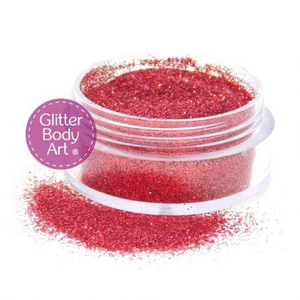 rugby glitter, cosmetic glitter, red glitter, festive glitter, red nail glitter, red makeup glitter