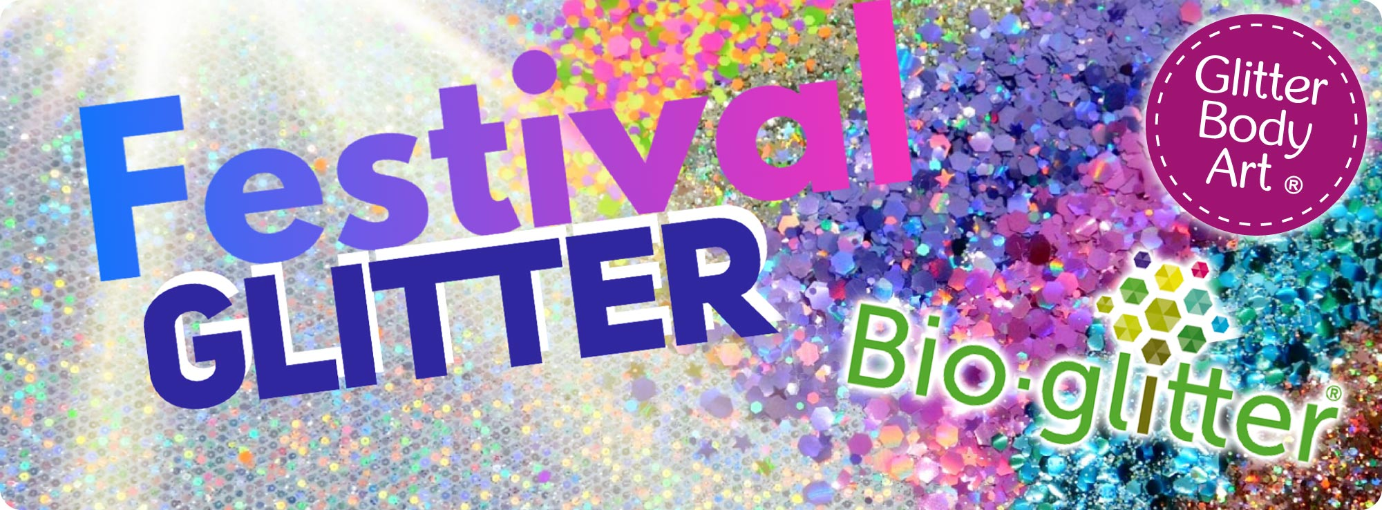 festival glitter collections