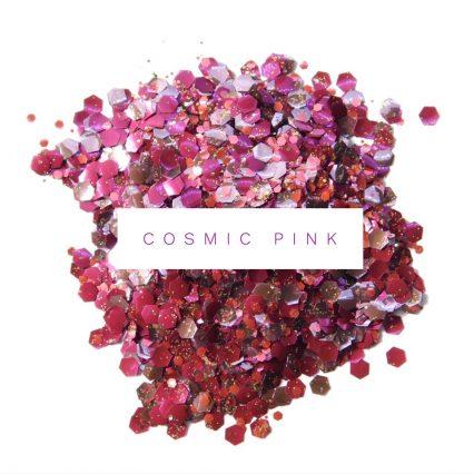 cosmic pink bio glitter festival glitter mix for glitter makeup