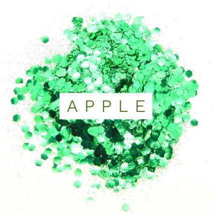 green bio glitter festival glitter mix, eco glitter
