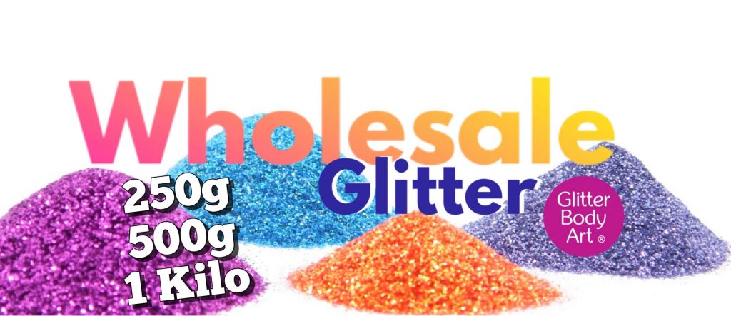 wholesale glitter supplier Uk for body glitter for temporary tattoos and makeup