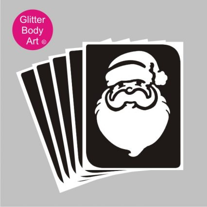 santa temporary tattoo