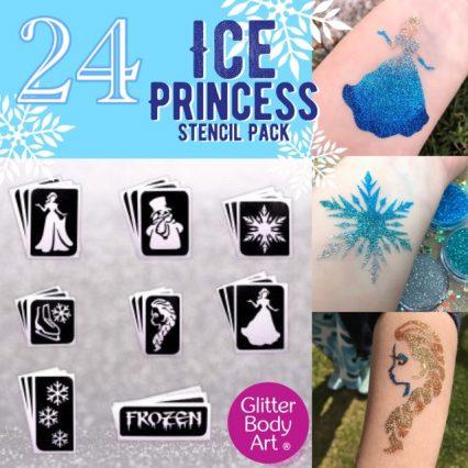 princes temporary tattoo stencils