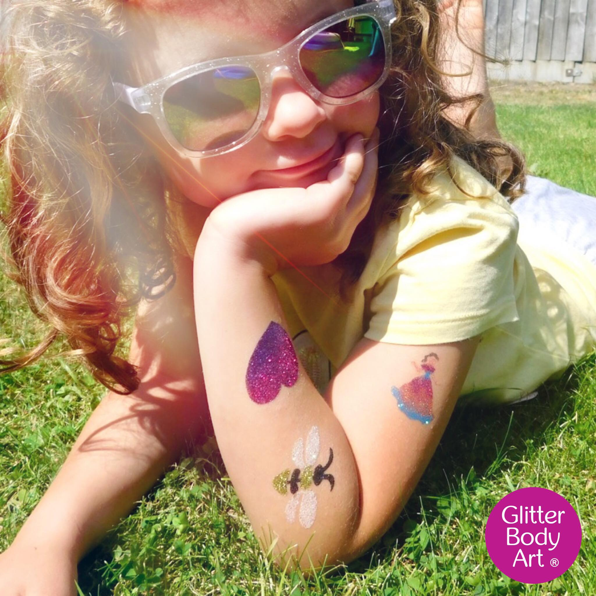 glitter and temporary tattoo ideas for kids birthday party and events