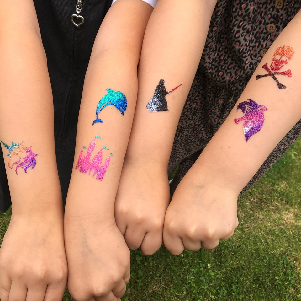 What are Glitter Tattoos?