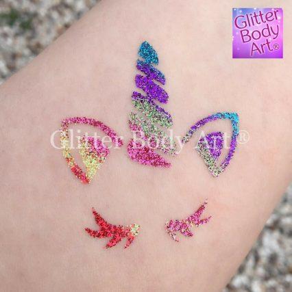 unicorn temporary tattoo, unicorn stencil, unicorn glitter tattoo, unicorn template, bulk buy stencils, unicorn gifts, unicorn party, unicorn presentsg