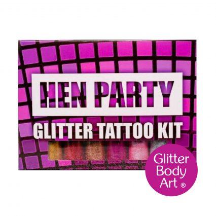 Hen party temporary tattoo kit