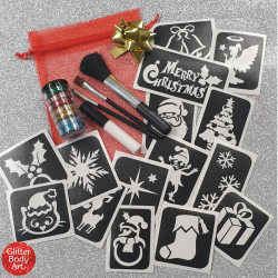 Christmas Tattoo Gift Set