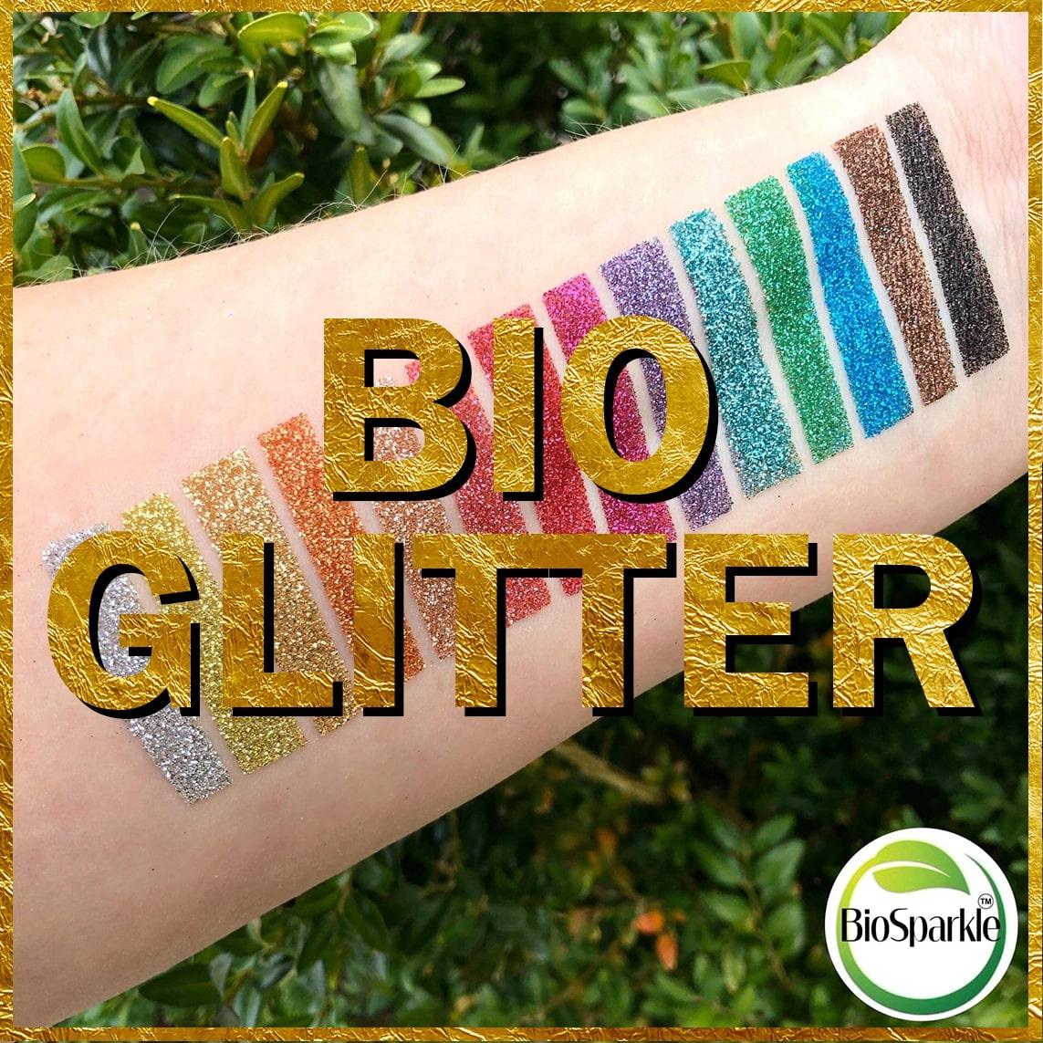 bioglitter, bio glitter, eco glitter, biodegradable glitter