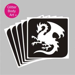 dragon temporary tattoos for boys