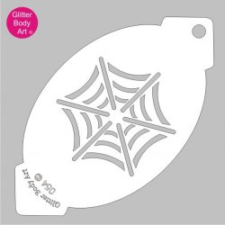 spiderman party cobweb facepaint stencil spider webs facepainting stencil