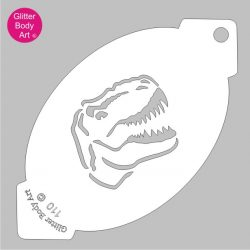 t-rex dinosaur stencil, dinosaur head template
