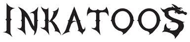 inkatoo logo for black temporary tattoos for kids