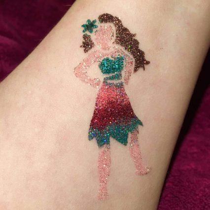 Moana temporary tattoo