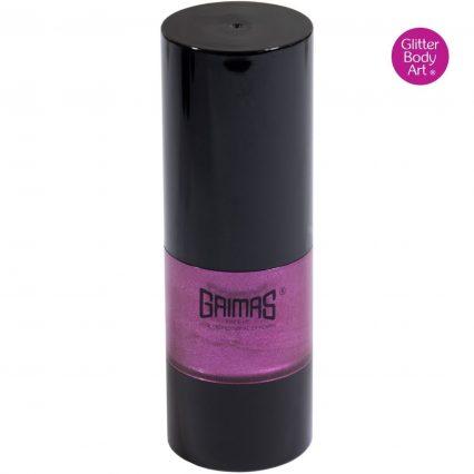 purple grimas liquid face paint